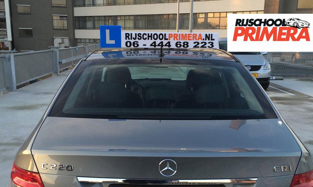 mercedes rijles auto rijschool primera