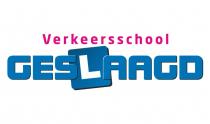 logo van verkeersschool geslaagd uit veendam